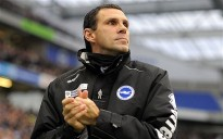 Gus Poyet was sacked by Brighton last weekend. (Image: Telegraph)